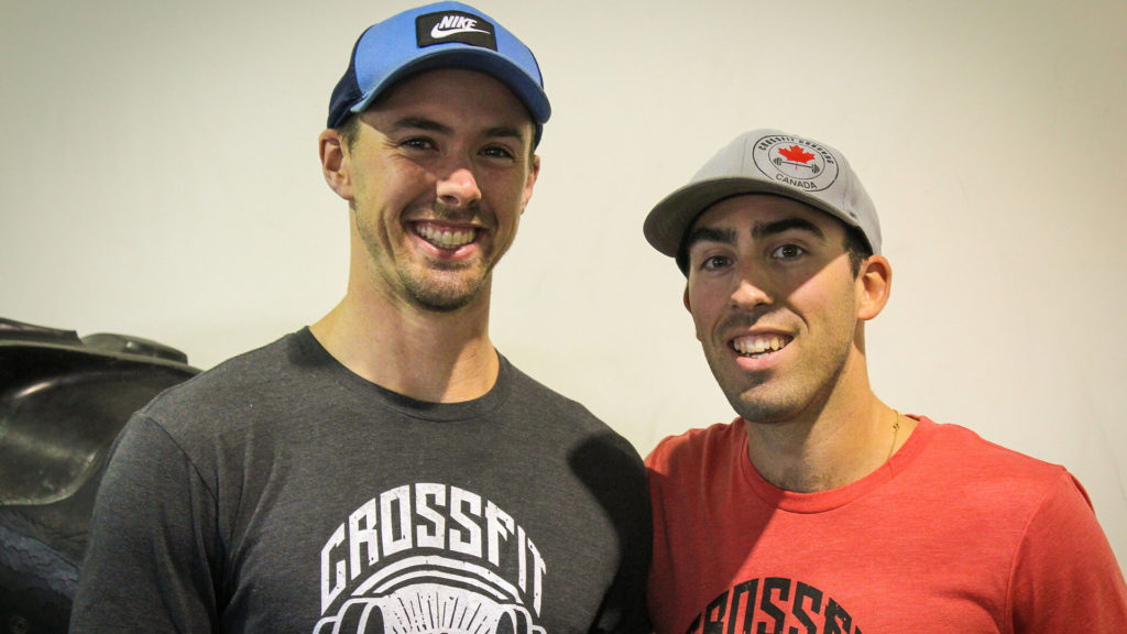 2 crossfit coaches smiling