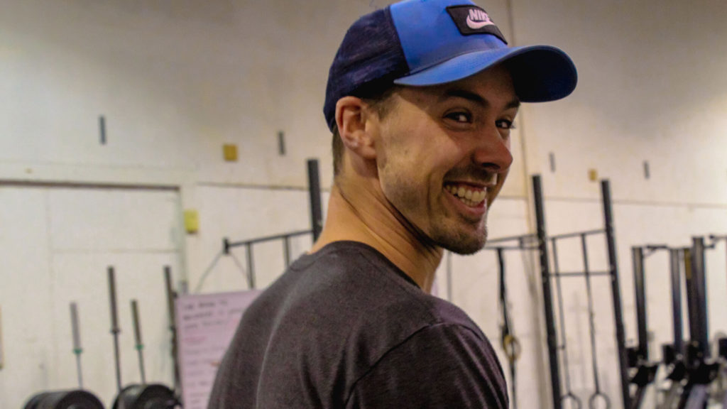 crossfit coach smiling